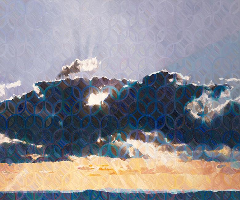 Stephen Kaltenbach, <em>Sunset</em>, 1970–71. Courtesy of the Crocker Museum.