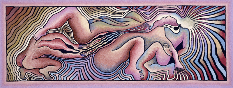 Judy Chicago, Birth Trinity, 1983