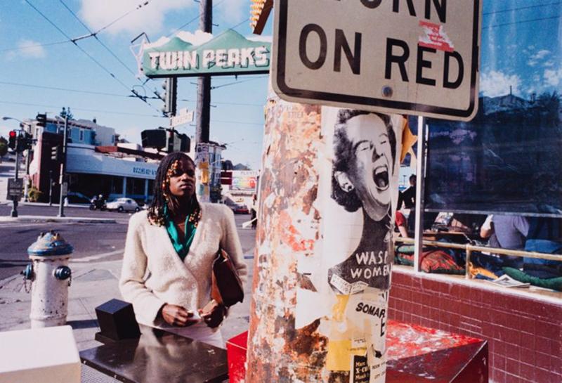 John Harding, San Francisco, California, Castro & Market Street, from the portfolio Analog Days, 1980, printed 2013; photograph, inkjet print, 15 3/4 x 23 in. (40 x 58.4 cm); Collection SFMOMA, gift of the artist; © John Harding.