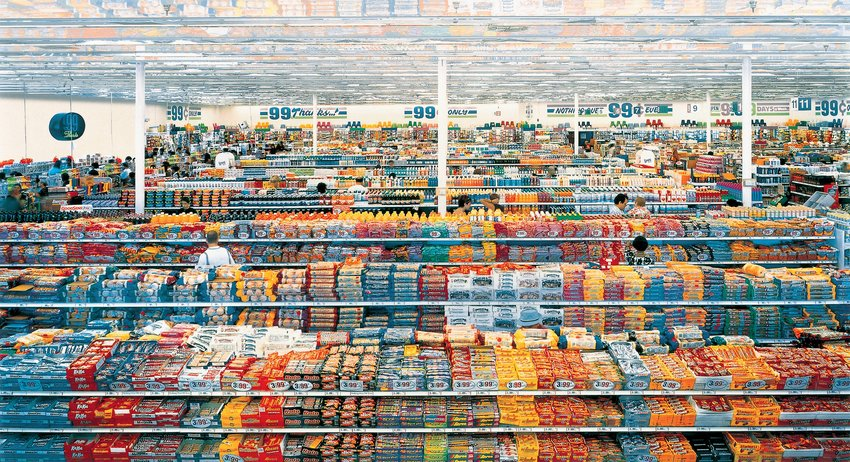 Andreas Gursky 99 Cent 1999