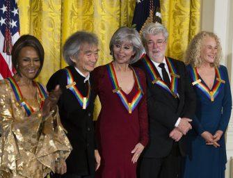 比奧斯卡還重要~喬治盧卡斯獲甘迺迪中心終身成就獎!