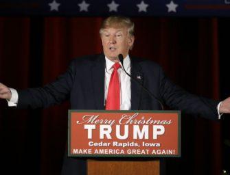 美国共和党总统参选人川普继续大幅领先