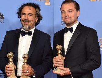 《荒野猎人》获最佳影片金球奖