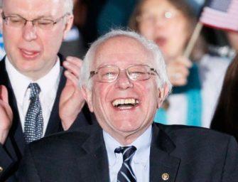 桑德斯赢得阿拉斯加和华盛顿两州党团选举