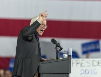 美国民主党总统初选中桑德斯大胜三州