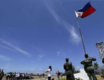 菲律宾向中业岛派遣军队和物资