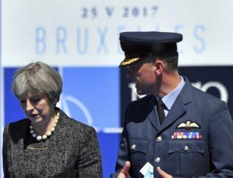 英国首相对川普提出美官员向媒体泄密问题