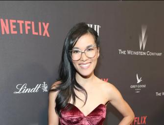 舊金山華人喜劇演員 Ali Wong 將主演 Netflix 新浪漫喜劇
