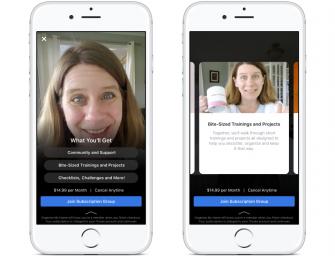 臉書推出在線社區訂閱服務,每月收費觀看專屬內容