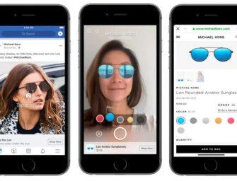 臉書在信息流中開始測試增強現實廣告