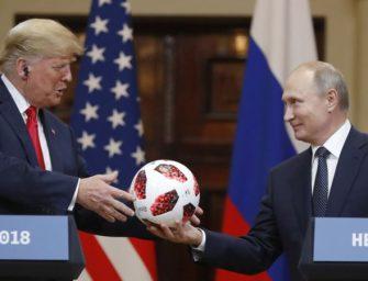 川普拒绝支持美情报机构有关俄干涉美选举结论