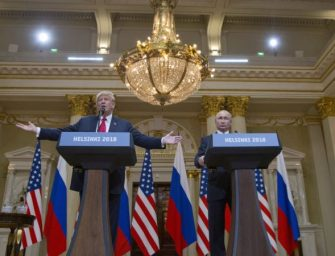 美议员猛批川普在赫尔辛基的涉俄评论