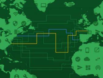 Google 要建造全球第一條跨洋海底電纜,接通美國和法國