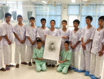泰国青少年足球队获救后将回答媒体提问