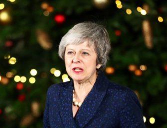 英国首相在不信任投票中取胜