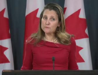 加外长:正确认另一位在中国的加拿大公民的下落