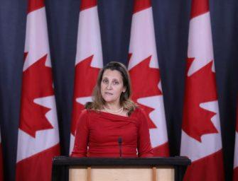 """加外长谈孟晚舟案:加拿大是""""法治国家"""""""