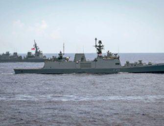 美海军增强与印度伙伴关系确保印太自由开放
