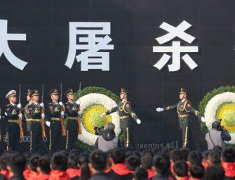 """中国举行公祭日活动 新生效法律:""""弯曲南京大屠杀""""即属违法"""