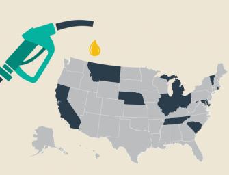 注意了!7月起全美多个州上调油价税,加州将成油价最高州