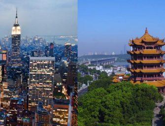 纽约开通直航武汉 一周三班787