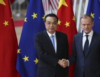 欧盟同美中的贸易顺逆差距扩大