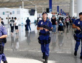 香港机场重新开放
