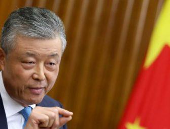 中国驻英大使:中国不会坐视香港抗议加剧