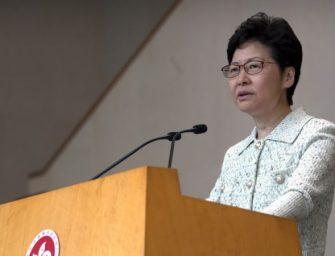 香港民众本周末将大动作,林郑支持警察使用武力