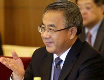 胡春华率领庞大代表团访问南太平洋岛国萨摩亚