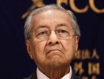 马哈蒂尔对马来西亚可能受到贸易制裁的重创发出警告