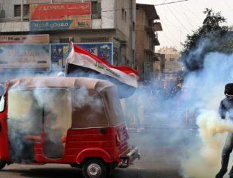伊拉克持续发生抗议活动