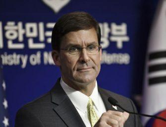 美韩推迟朝鲜批评的军事演习