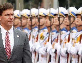 美防长:将向越南海岸警卫队提供一艘巡逻舰
