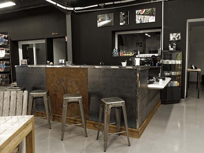 Le bar, café, snack de SHAPER HOUSE