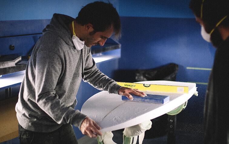 Sylvain Mornet, professeur de shape SHAPER HOUSE Biarritz