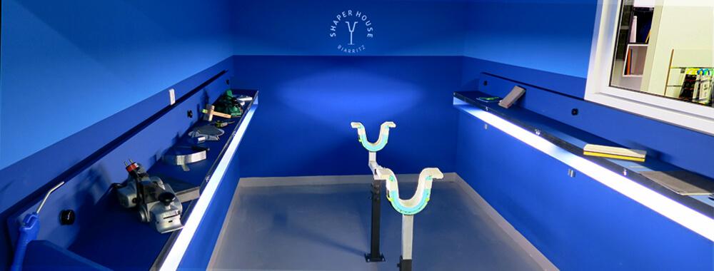 Salle de shape SHAPER HOUSE à Biarritz réservé au amateurs