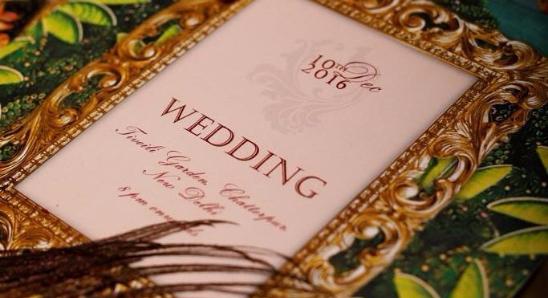 Portfolio - Wedlock Invitations by Ashna Nayyar