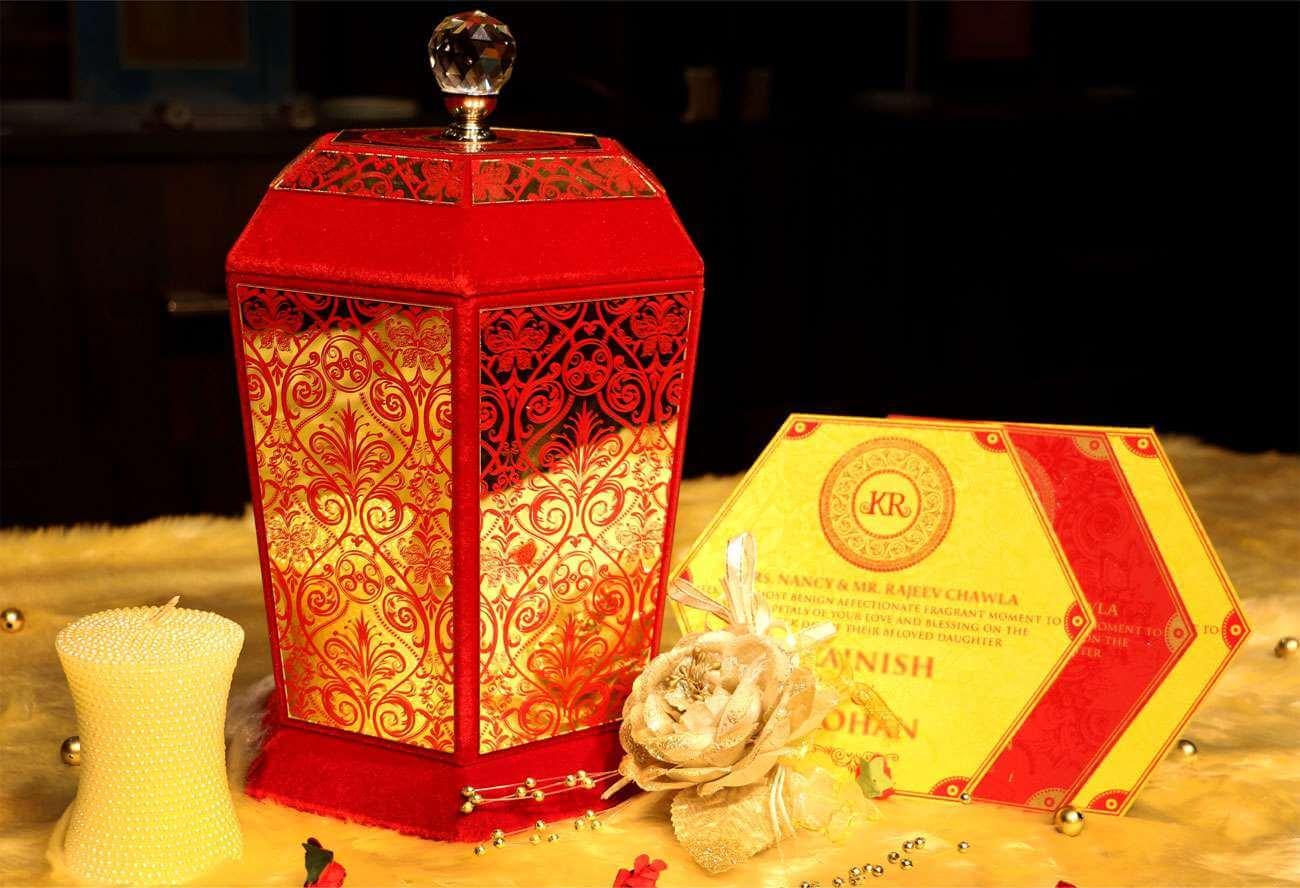 Modern Indian Wedding Invitations Uk: Voguish Wedding Invitations