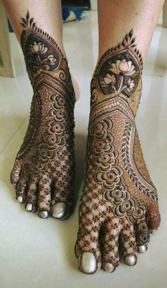 Portfolio - Santosh Mehandi Artist