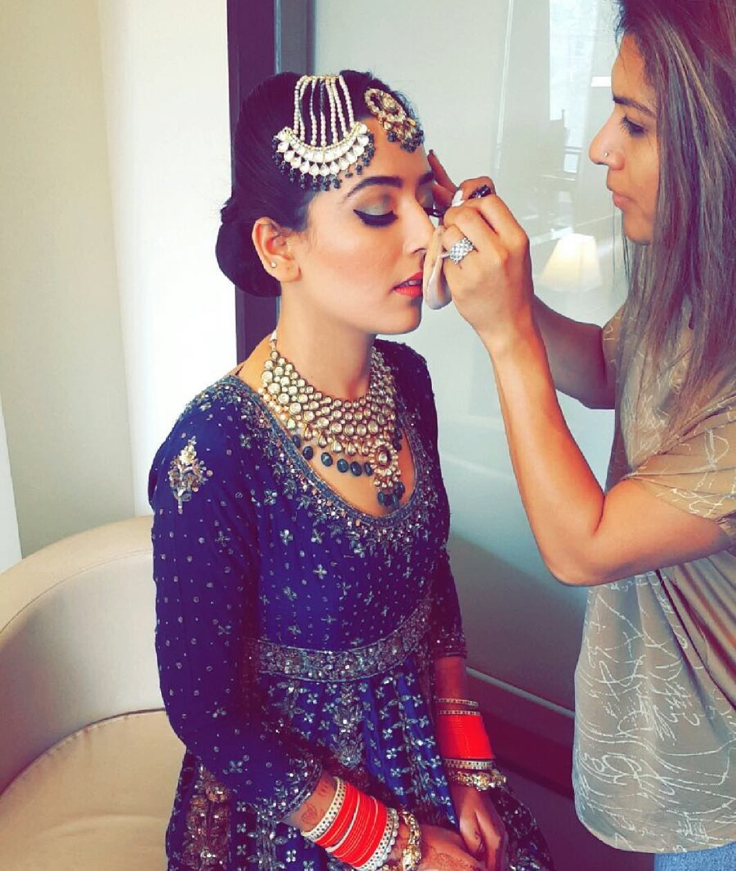 Portfolio - Sahibba K Anand Makeup & Hair Expert