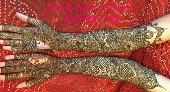 Hemanth Mehandi Art - Portfolio
