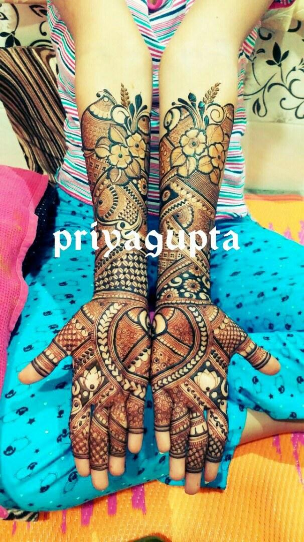 Portfolio - Priya Mehandi Art