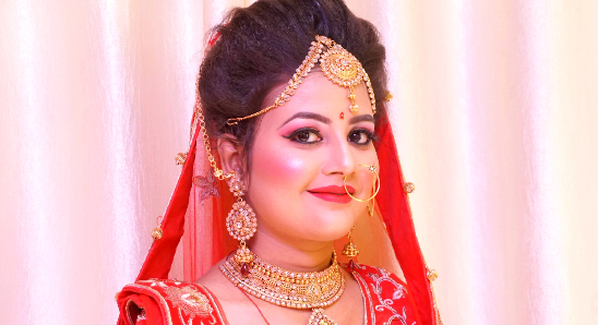 Best Bridal Makeup Rajnandani Beauty Parlour Professional Makeup Studio And Spa Portfolio