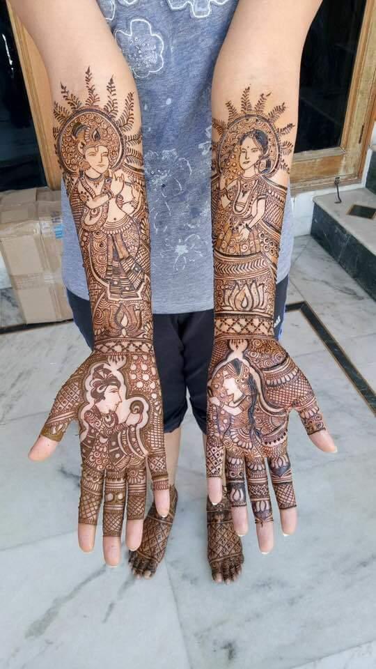 Aaka Mehandi Arts - Portfolio