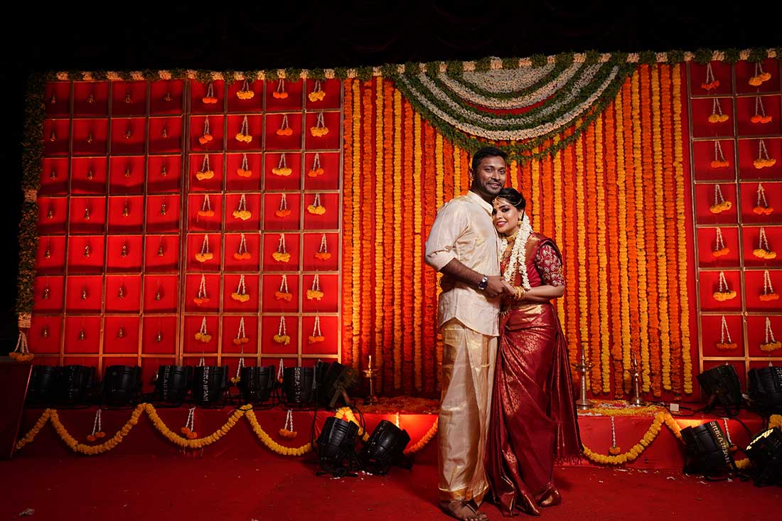 Extravagant South Indian Wedding With Personalised Decor