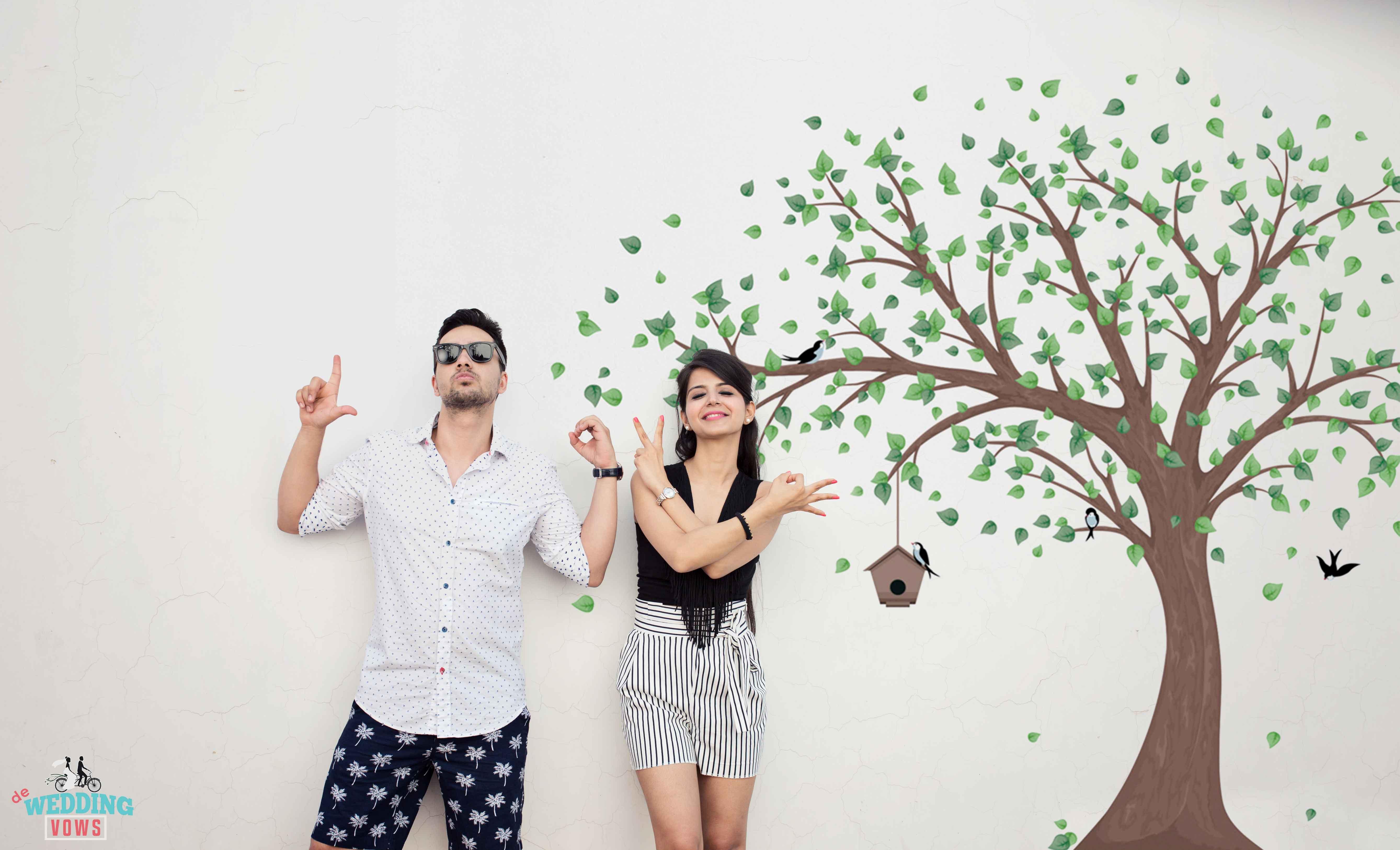 Pre Wedding Shoot Fun ideas - Shaadiwish