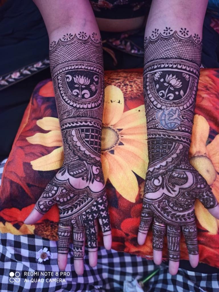 Portfolio - Geet Mehndi Arts