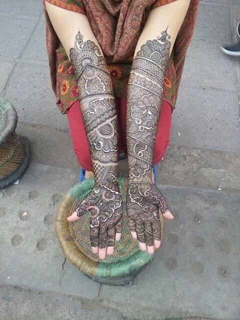 Amar Mehendi Artist - Portfolio