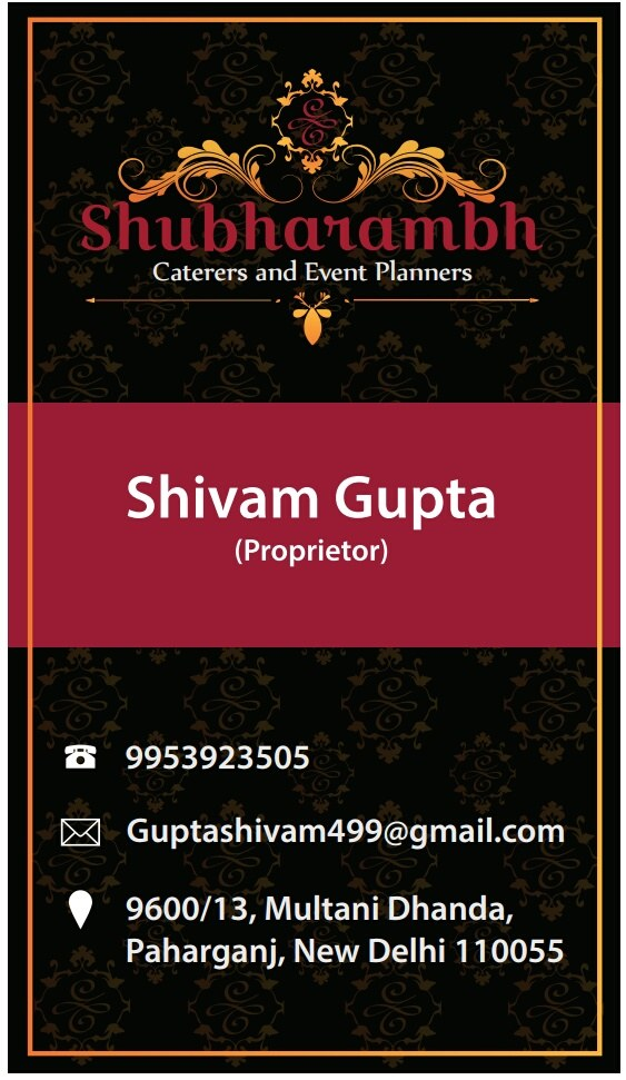 Portfolio - Shubharambh Caterers and Events Planners